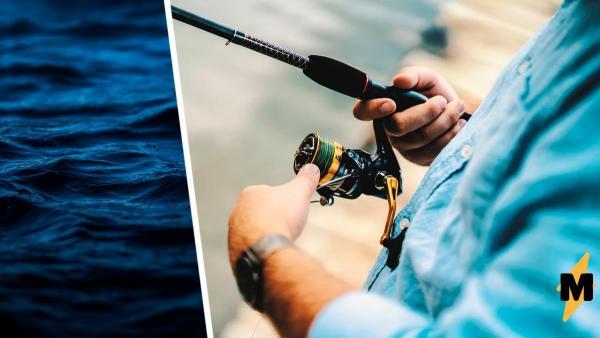 Рыбаки увидели рыбу и поняли - зря считали, что сумоистами могут быть только люди.