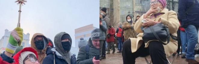 Бабули ворвались на митинги в России и стали героинями для людей. Ещё бы, ведь они не знают, что такое страх