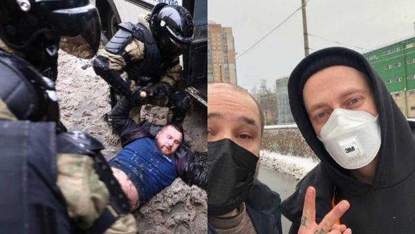 Задержание Оксимирона, тиктокеры, поющие IC3PEAK, и Марк Руффало (да). Как прошли протесты в России 31 января