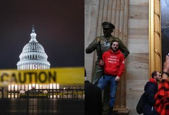 Сторонники Трампа напали на Капитолий. Бунтующие требуют его победы, делают селфи и глумятся над символами США