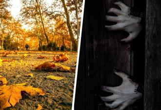 Девушка нашла на одежде лист от дерева и взяла в руки. Когда он ожил, спасаться бегством оказалось уже поздно
