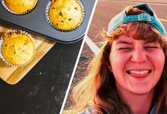 Девушка испекла кексы, и гурманы в тупике. Они не понимают, откуда внутри выпечки появилось болото Шрека