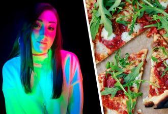 Девушка показала, что ест пиццу не так, как все, и сломала людей. Теперь они верят, что ей пора к психологу
