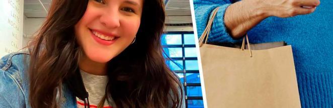 Незнакомый парень отобрал у блогерши куртку, и она счастлива. И подписчики тоже, ведь это романтика XXI века