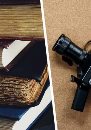 Девушка полезла в домашнюю библиотеку и случайно нашла сокровище. След в этой книге оставил любимый актёр СССР