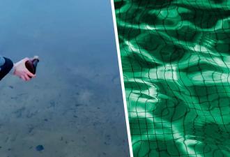Блогер на видео окрасил реку в неоново-зелёный, и люди в ярости. Зря: для рыб новый дизайн совсем не опасен