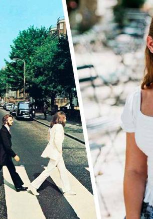 Фанатка сняла фото как у The Beatles на зебре, а увидев его, обомлела. Своего кумира в кадре она не заметила