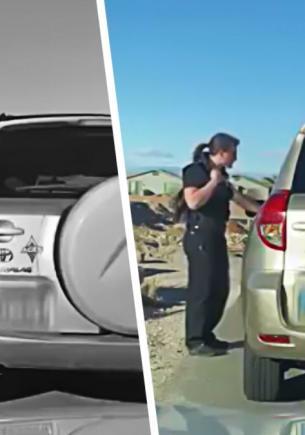 Полицейский остановил машину и помешал свиданию. Но вместо штрафа ему придётся оформлять самому себе развод