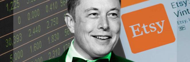 Илон Маск рассказал о последней покупке и сломал Уолл-стрит. Больше его собаки рады лишь держатели акций Etsy