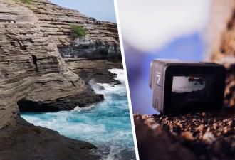 Камера 6 лет лежала на дне океана с рабочей флешкой. Последнее видео лучше не видеть тем, кто боится плавать