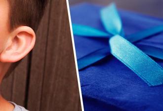 Мальчик готовится ко дню рождения, набирая вес. Только так он сможет получить заветный подарок — новое ухо