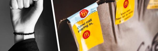 Клиентка заказала бургер в «Макдоналдсе», а получила разочарование. Заказ пришёл, но его вид — итог её провала