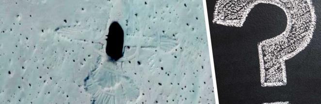 Девушка гуляла по Google Maps, когда нашла чёрную дыру. Она в пустыне и совсем не то, чем кажется
