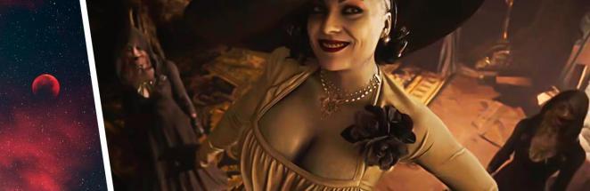 Resident Evil: Village подарит геймерам высокую «вампиршу». Она ещё никого не укусила, но уже стала мемом