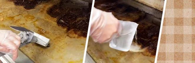 Парень на видео почистил печь в «Макдоналдсе», и зрители удивлены. Всё оказалось не так, как они ожидали
