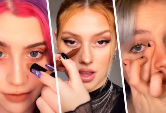 Блогерши рисуют синяки под глазами, и это не пранк, а тренд. Теперь можно не гуглить, как убрать тёмные круги