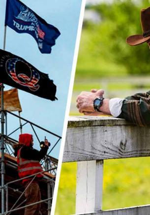 Люди увидели Чака Норриса на протесте в США и «отменяют» актёра. Вот только сам звезда, возможно, там не был