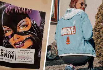 Девушка нанесла маску в виде Женщины-кошки. Кто ж знал, что у неё есть побочный эффект: смешной (и жуткий) вид