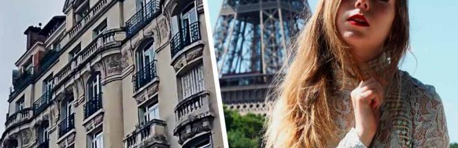 Девушка показала «худой» дом в Париже, и клаустрофобы вышли из чата. Они не поняли: это иллюзия