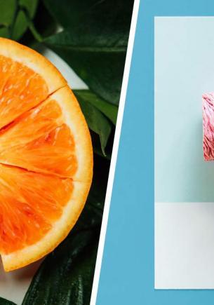 Девушка хотела витамин C, но вместо него в её организм попало лишь отвращение. Ганнибал оценил бы такой фрукт