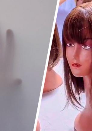 Таиландка показала фабрику париков, и людям плохо от количества волос. Зато японцы могут снять новый «Звонок»