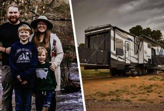 Семья продала дом и переселилась в место в 10 раз меньше. Они ни о чем не жалеют, ведь стало лучше, чем было
