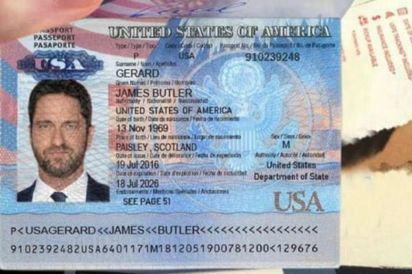 Джерард Батлер просит у фанатов взаймы, и они давали, увидев его паспорт. Пока он не распался на 7 личностей