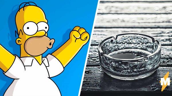 Мужчина курил 30 лет и превратился в Гомера Симпсона. Буквально: его кожей можно осветить комнату