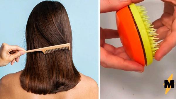 Блогерша узнала, что прячется внутри каждой расчёски. Один взгляд - и вы будете делать укладку только пальцами