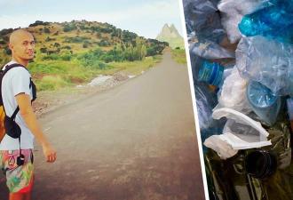 Житель острова превращает мусор соседей в музыкальные инструменты. Вы никогда не угадаете, какой голос у хлама