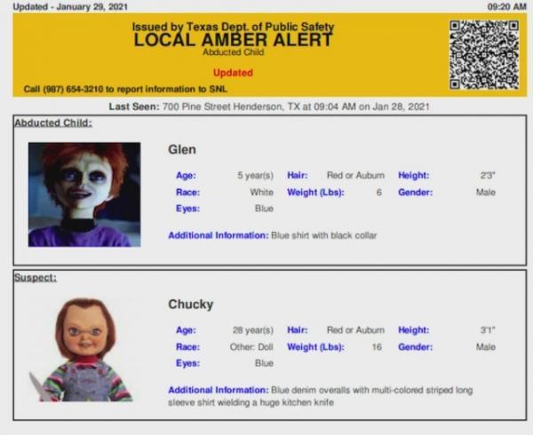 Кукла Чаки попала в розыск и это не шутка.
