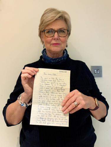 Плотник нашёл в старой мебели письмо ребёнка из 1969 года. Её слова - пророчество, которое уже успело сбыться