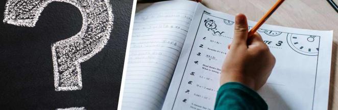 Семилетка попросила папу-профессора помочь с математикой, но упс. Школьная задача по зубам только философам