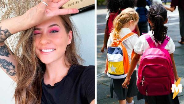 Женщина узнала, как прошли уроки у дочки, и ей стало стыдно. Ведь девочка пришла в класс с маминой одеждой