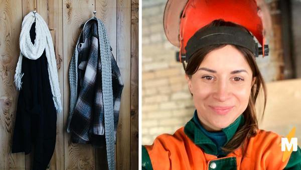 Женщина показала, как починить порванную куртку, и люди в восторге. Ведь для трюка нужны лишь пластырь и утюг