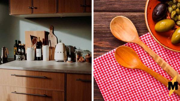 Блогерша замочила деревянную ложку в стакане, и люди поняли: такую посуду пора сжигать. Ведь от неё один вред