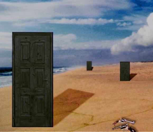 Реддитор шёл по пляжу и понял: он в мире Роланда из «Тёмной башни». Его встретила дверь в другую реальность