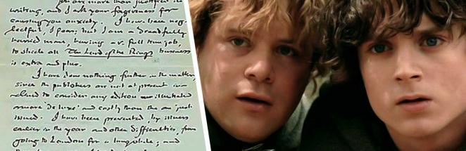 На аукционе продали письмо Джона Толкина. В нём он писал, как на самом деле должны выглядеть хоббиты