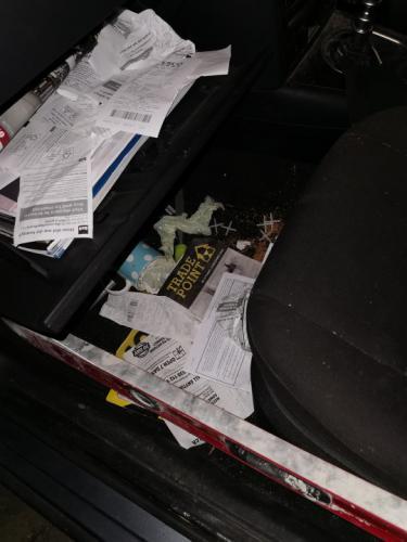 Хозяйка превратила авто в мусорку на колёсах, буквально. Но рада, ведь фото из салона - её повод для гордости