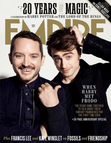 Гарри и Фродо попали на обложку журнала, и поклонники в слезах. Ведь они верили в то, что Фродо Поттер реален