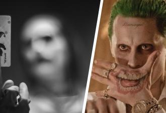 Ворон, разлогинься. Фаны увидели нового Джокера Джареда Лето, и поняли, где стилисты взяли идею для грима