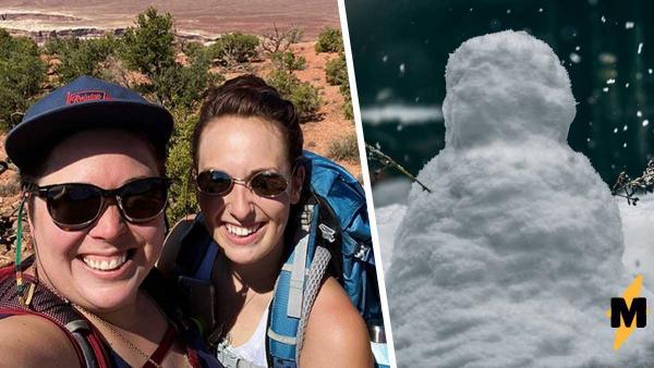 Тиктокеры слепили снеговика во дворе и теперь их соседи хотят съехать. Ещё бы: ему прямая дорога в ужастики