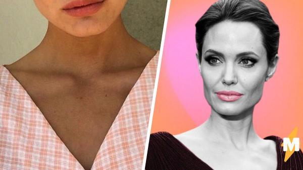 Тиктокерша выглядит, как Анджелина Джоли и Кристен Стюарт (одновременно). Сердца людей завоеваны без боя