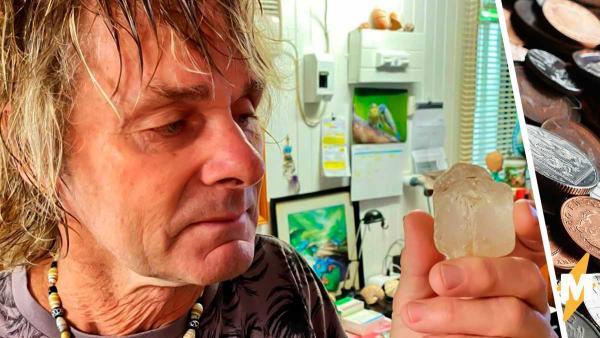 Пенсионер нашёл в лесу замутнённый кристалл, но быстро пожалел о находке. Вместо богатства он получил бедность
