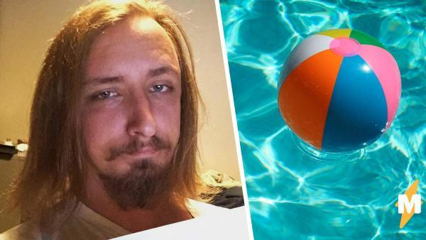 Парень хотел снимок в бассейне, а получил себя-гнома. Панорамные фото отдыхают по сравнению с его фейлом
