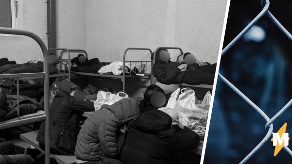 Задержанные на митингах постят фото и видео из спецприёмника в Сахарово. И людям кажется: это новый Освенцим