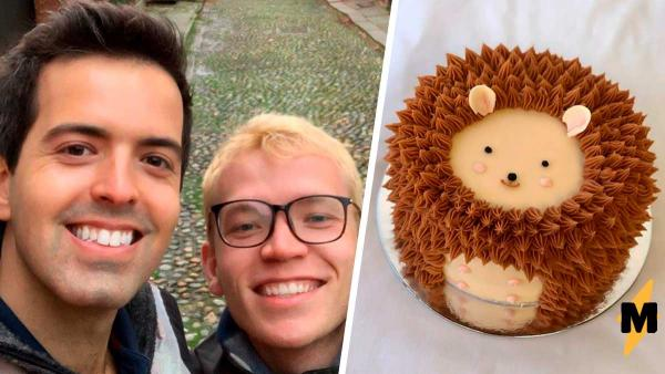 Парень сделал торт для любимой, а вышло нечто. Когда вы это увидите, ассоциаций с десертом уже не возникнет