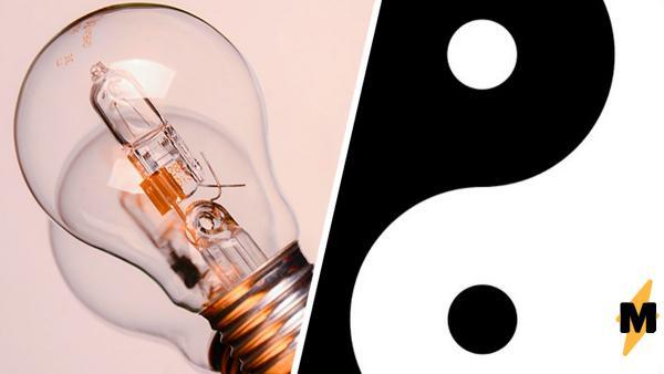 У реддитора перегорели лампочки и теперь они символ Инь и Янь. Люди объяснили: это не магия, а чистая физика