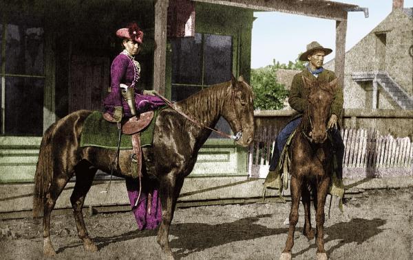 """Дикий Запад оживает на отреставрированных фотографиях в цвете. Фанаты """"Red Dead Redemption"""" — подборка для вас"""