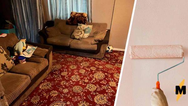 Девушка стыдилась приводить гостей в квартиру, но у неё не было денег на ремонт. Помогла фантазия (и Ebay)